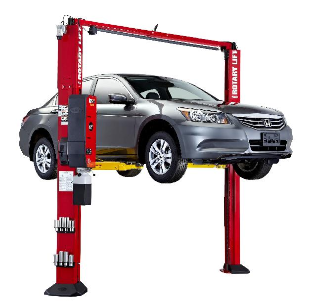 Rotary Two-Post Auto Lift (10,000lbs.-Capacity Asymmetric, Shockwave Equipped) - R-SPOA10-SW