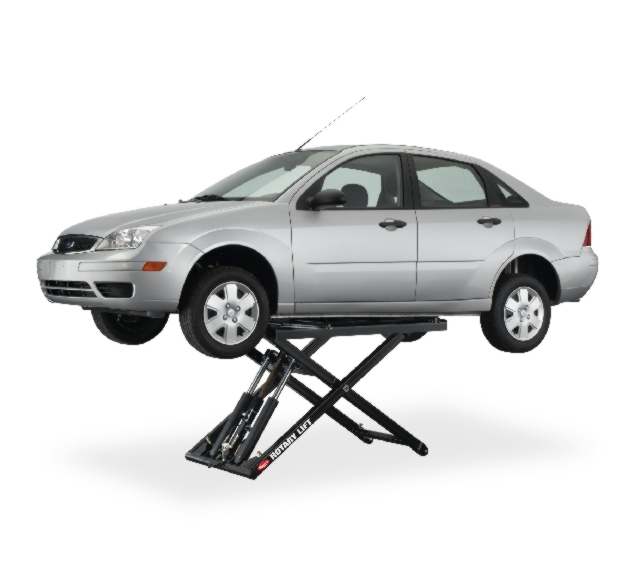 Rotary Pad-Style Auto Lift (6,000lbs.-Capacity Mid-Rise Portable Revolution) - R-RMR6