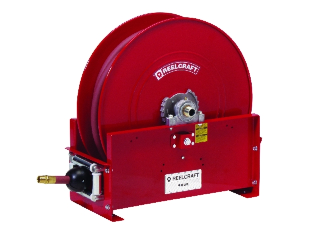 Reelcraft D9000 Large Mobile Base Hose Reel - REL-D9100OHPBW