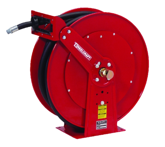 Reelcraft FD9000 Large Mobile Base Fuel Hose Reel - REL-FD9300OLPBW