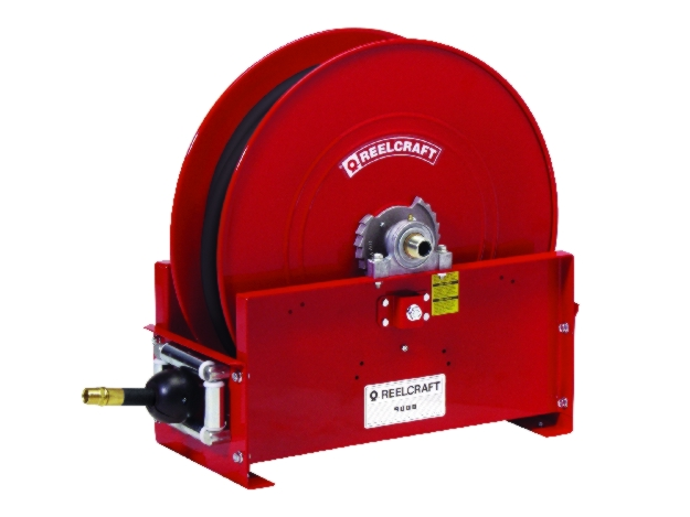 Reelcraft FE9000 Large Mobile Base Fuel Hose Reel - REL-FE9350OLPBW
