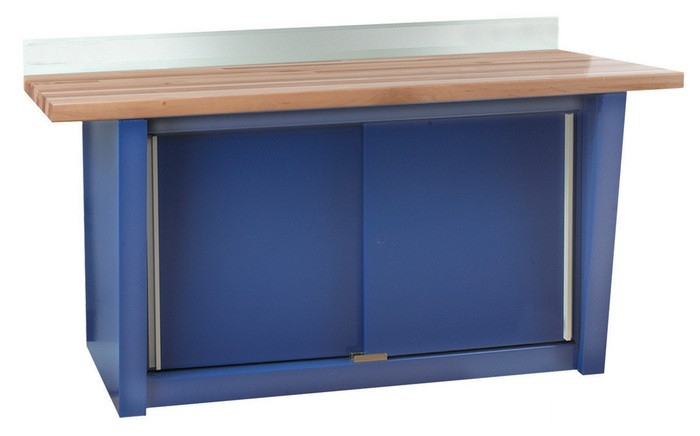 Peachy Shure Custom Series Wall Mounted Workbench With Hardwood Top Sh 811020 Machost Co Dining Chair Design Ideas Machostcouk
